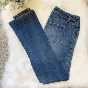 CAbi | Blue Denim Straight Leg 2